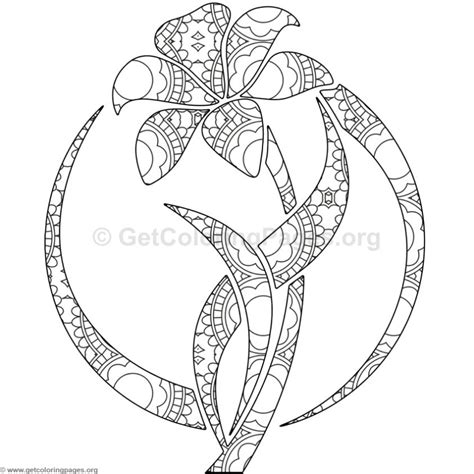 coloring pages of flowers with names flower coloring pages 3 getcoloringpages org
