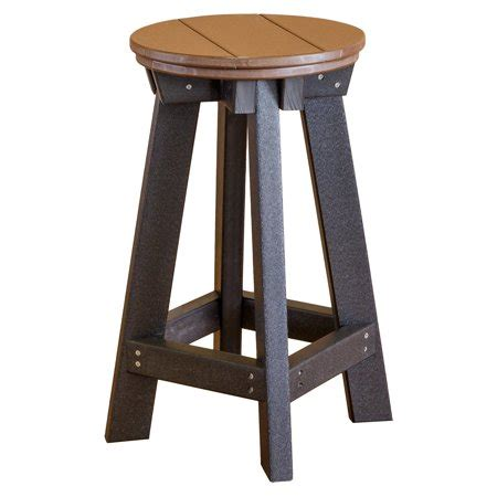 Plastic Bar Stools Walmart by Wildridge Heritage Recycled Plastic Backless Patio Bar