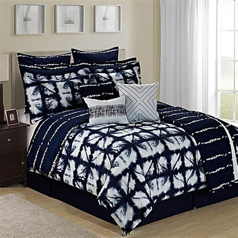 tie dye bedding queen buy tie dye reversible 12 piece queen comforter set in