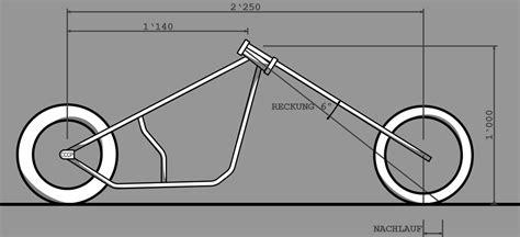 Motorrad Gabel Nachlauf by Fahrbarkeit Cccp Motorcycles Gmbh