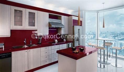 red and white kitchen designs en g 252 zel bordo beyaz mutfak dolapları fotoları