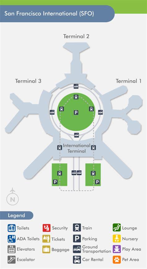 san jose airport terminal map southwest san francisco airport sfo terminal map