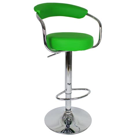 Zenith Bar Stool by Zenith Bar Stool With Arms Green Size X 370mm X 390mm