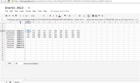 Spreadsheet Solutions by Igoogledrive Spreadsheet Importrange In Order