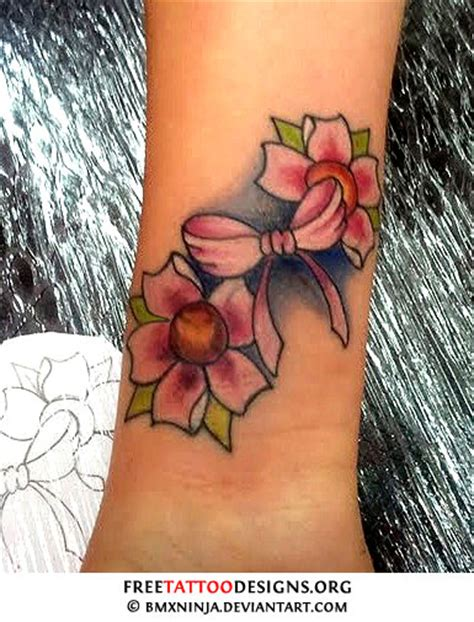 cherry blossom wrist tattoo designs cherry blossom designs