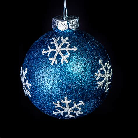 christmas ornaments by eb midnight snowflake ornament2