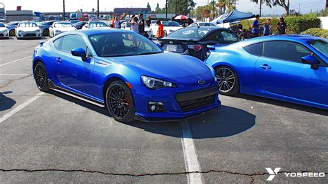 custom blue subaru subaru brz blacked out wallpaper 1024x768 23655