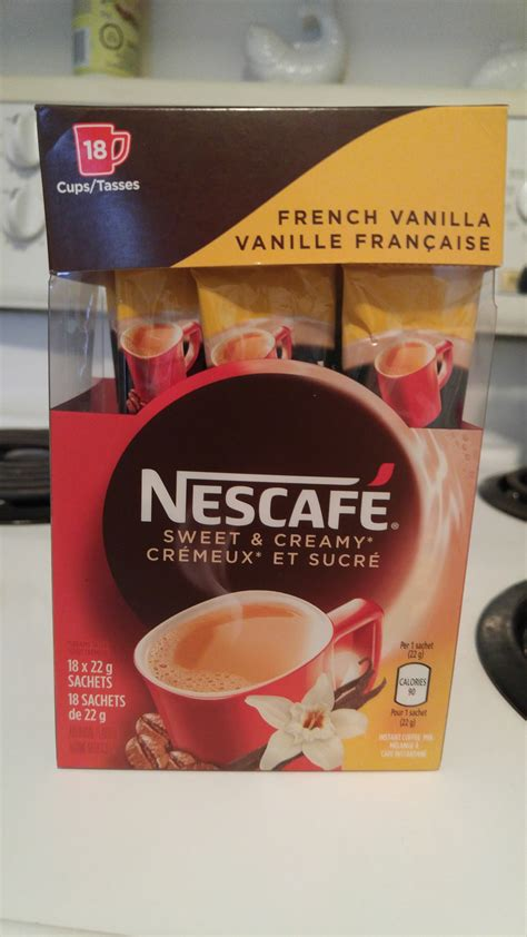 Coffee Mix nescafe sweet vanilla instant coffee mix