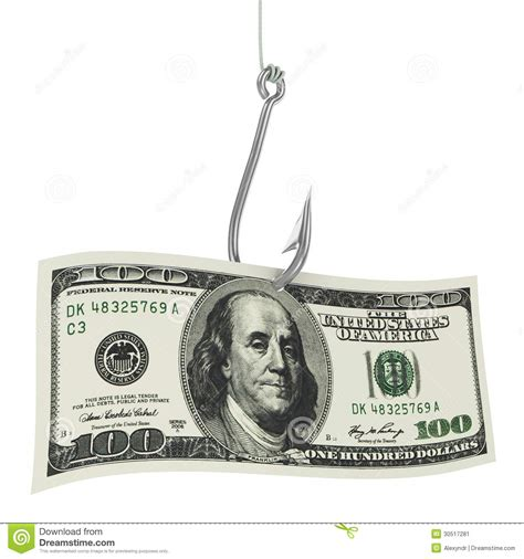 Fish For Money Gift Card - fishing hook and money stock image image 30517281