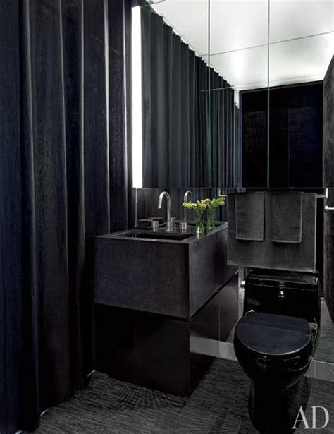 black bathroom fixtures decorating ideas banheiro granito preto gilles mendel e kylie case