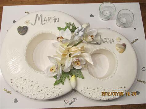 Hochzeitstorte Ringe by Besondere Anl 228 Sse 1 187 Hochzeitstorte In Edlem Crem