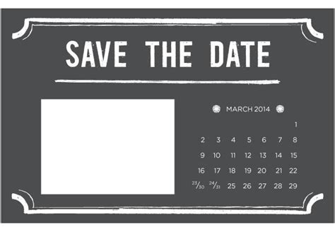 Free Save The Date Template 4 printable diy save the date templates