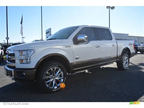 2016 white platinum ford f150 king ranch supercrew 4x4