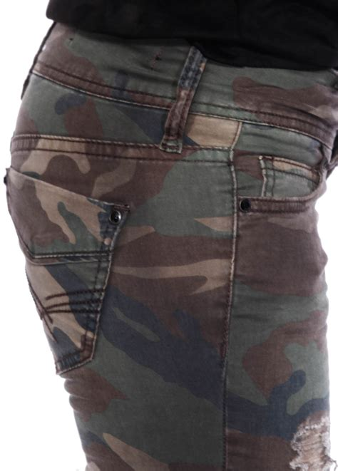 camo pattern skinny jeans womens camo military army skinny jeans girls slim ripped