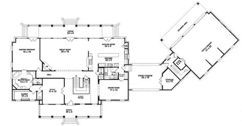 tara floor plan plantation style house plans 6084 square foot home 2