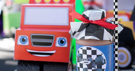 karas party ideas blaze   monster machines birthday party karas party ideas