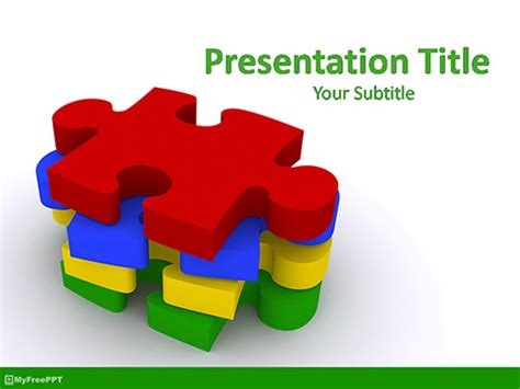 Free Jigsaw Puzzle Powerpoint Template Download Free Powerpoint Ppt Jigsaw Puzzle Template Powerpoint