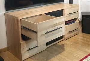 comment fabriquer propre meuble tv sur mesure en bois