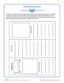 Brochure Assignment Outline by Travel Brochure Comprehension Worksheets Travel Brochure And Comprehension