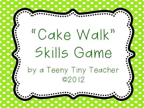 printable numbers for cake walk freebielicious cake walk game