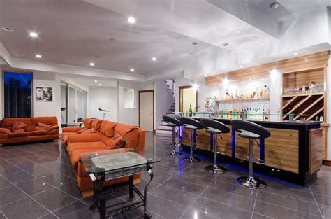 basement bar ideas modern design a modern basement bar home bar design