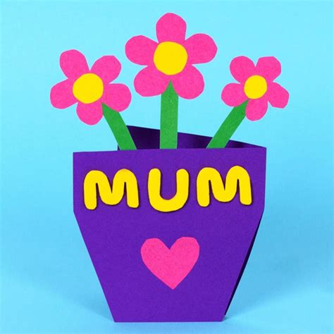 Mother S Day Gift Card Ideas - mothers day cards ideas for kids craftshady craftshady