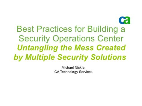 Best Home Security Practices Lovetoknow Soc Presentation Building A Security Operations Center