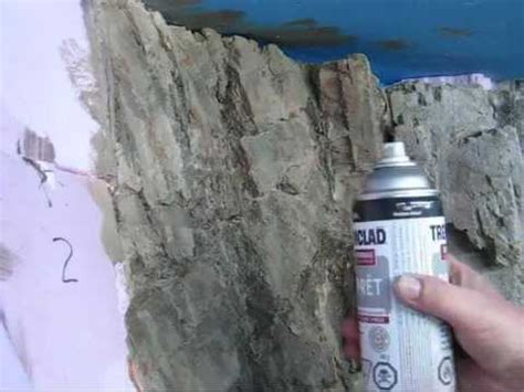 spray paint how to make mountains carving foam rocks 2