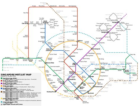 singapore mrt map singapore mrt lrt rail maps