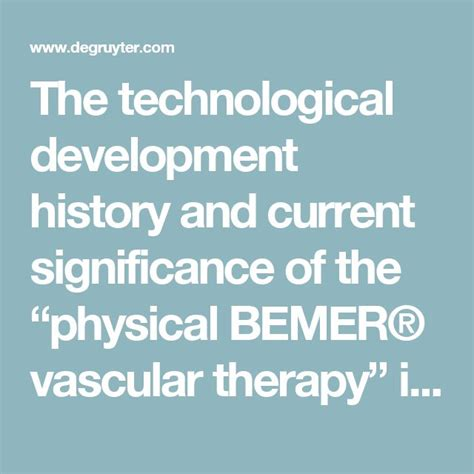 Bemer Detox by 38 Best Bemer Images On Therapy Alternative