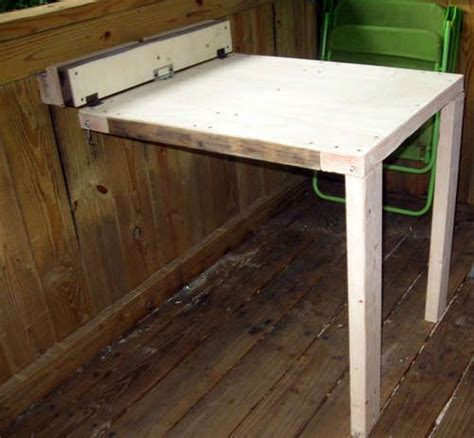 diy hinged table legs side wall and tables on