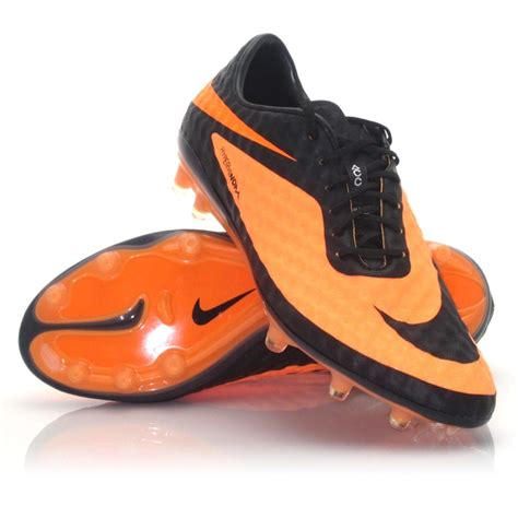 nike orange football shoes nike hypervenom phantom fg mens football boots black