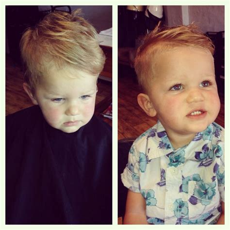 Baby Haircuts Before And After | before and after haircut toddler boy hairstyle toddler