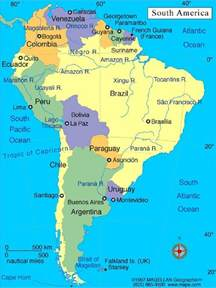 map of the equator in south america juzna amerika