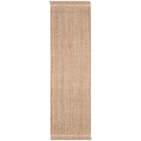 16 ft runner rug safavieh fiber 2 ft 6 in x 16 ft runner nf467a 216 the home depot