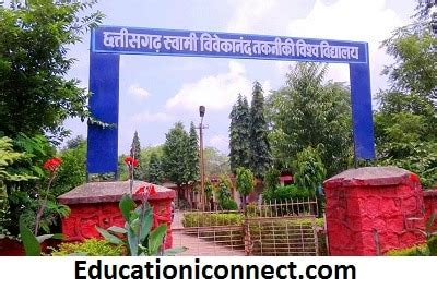 Mba College In Chhattisgarh And Fees by Chhattisgarh Swami Vivekanand Technical Fee