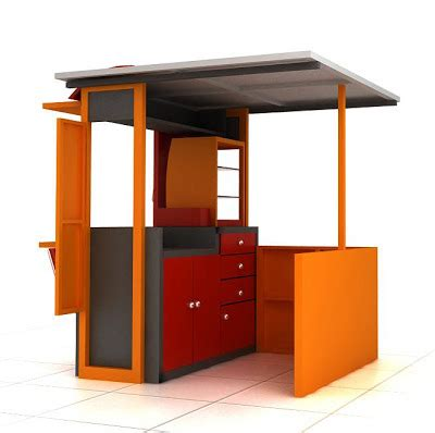 Design Gerobak Usaha | both sosis menetap gerobak unik
