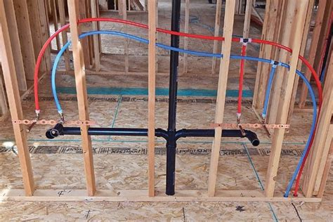 plumbing new construction rough in plumbing in new construction pro construction guide