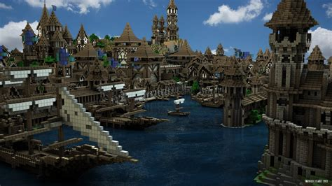 minecraft boat town minecraft medieval map minecraft lotheaven map youtube