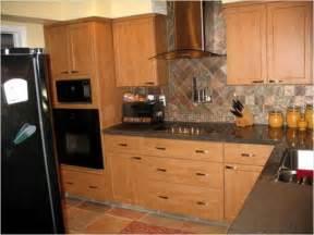 kitchen backsplash ideas with oak cabinets rustic baby white food storage