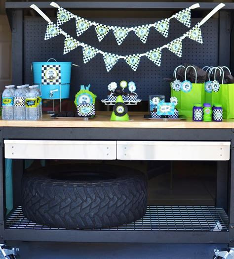 Truck Decorations by Truck Birthday Via Kara S Ideas Kara