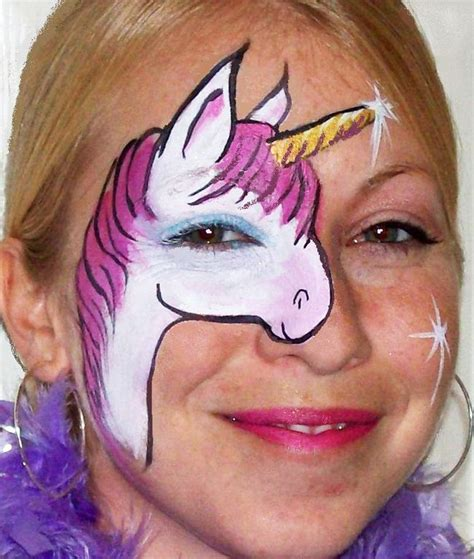 mural tattoo designs unicorn paint maquillage licorne