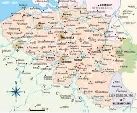 map of belgium tourist map of belgium belgium travel guide eupedia