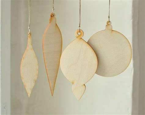 22 best unfinished wood christmas ornaments images on