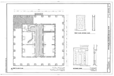 historic plantation house plans home ideas