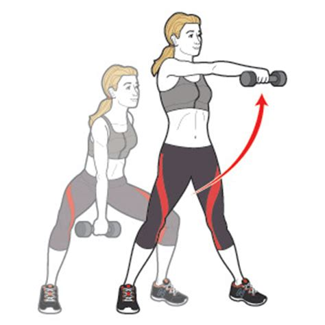 dumbbell arm swings the fastest way to lose 5 pounds women s health magazine