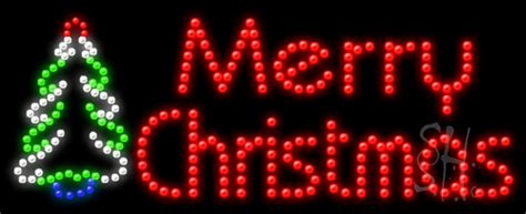 large merry christmas lighted sign merry christmas animated led sign holiday special