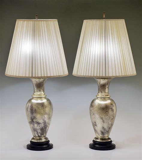 Mercury Glass Table L Pair Of Mercury Glass Table Ls