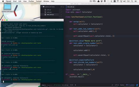 python tutorial unit testing your code with the unittest new coffee break course taming python with unit tests