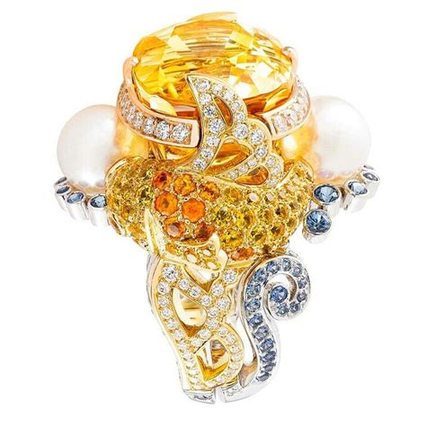 gorden ring motif ikan koi 753 best images about cleef arpels on